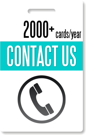 2000+ ID cards / year